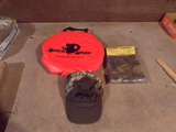 Lot of 3 Hunter seat, Hat and Target
