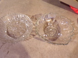 Lot of 2 Glass Dishes