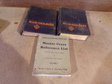 Lot of 3 Vintage Manuals ALLIS CHALMERS and REFERENCE LIST