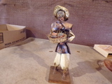 Vintage Paper Mache MEXICAN DOLL