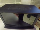 Swivel Black TV Stand