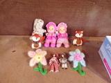 Lot of 9 Plush Toys