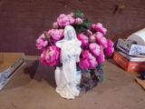 Religious Flower vase