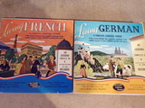 2 Vintage FRENCH and GERMAN records
