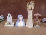 Lot of 4 Religious Figures