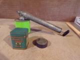 Lot of 3 Vintage Tins and Bug Sprayer