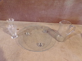 Lot of 3 glass pieces