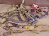 Lot of 3 -2 Safety harness and1 Lanyard