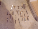 Lot of Manicure scissors and files