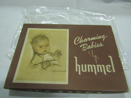 Vintage 1940s Hummel Charming Babies Post Cards in Original Box