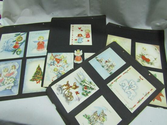 30 Vintage Christmas Cards