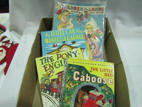 5 Vintage Children Books