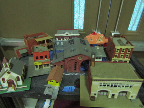 Vintage Model Village, RR Buildings