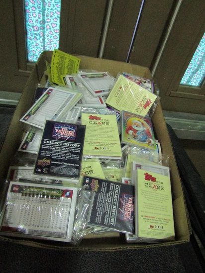 Epps and Topps Sports Cards, Baseball, Most in Packages
