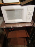 Magic Chef Microwave on Rolling Stand