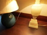 Lot of 2 Vintage Lamps