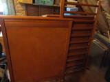 Vintage Wood Baby Bed Frame