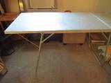 Aluminum Folding Table, 5' x 2'