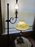 Lot of 2 Lamps, Floor and Table Lamps, Table not included