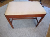 Vintage Small Bench by The Kling Factories, 22 x 18 x 13