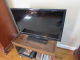 Funai TV with Stand, CDs, Electronics
