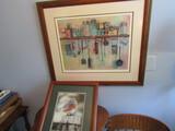 Vintage Signed Art, Smith-Bird Photo and John Edens
