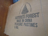 Vintage Nature's Forest Christmas Tree with Stand, in Box