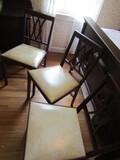3 Vintage Leg-O-Matic Folding Chairs, 1962