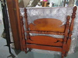 Vintage Complete Pineapple Post Bed