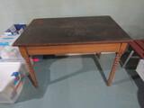 Antique/Vintage Wood Table, 43
