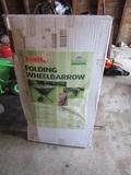 Bosmere Folding Wheelbarrow in Original Box, Unopened