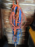 3 Extension Cords with 1 Spool