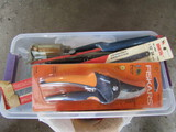 Garden Tools, Pruners, Shears, Saw, Electrical Items