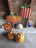 Lot of 6, Outdoor Holiday Décor, Fall/Halloween