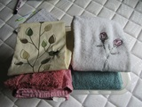 Tub of Towels and Hand Towels, New or Like New