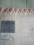 W. Germany Vintage Tablecloth and Green Afgan