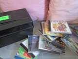 Lot of 12 Christmas CDs and Box Holder