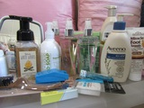 Large Lot of Hand Soap, Lotions, Body Spray, Unopened