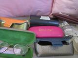 Prescription Eyeglasses and Cases