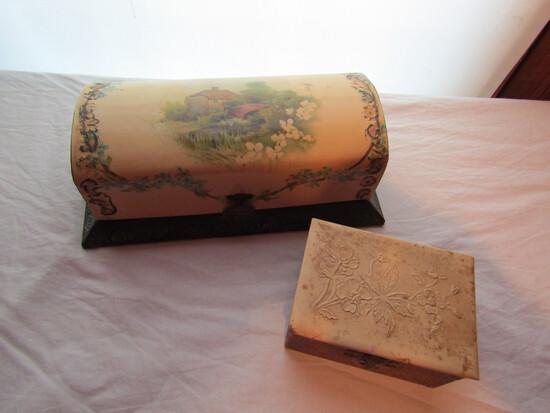 Victorian Vanity Set and Jewelry Box