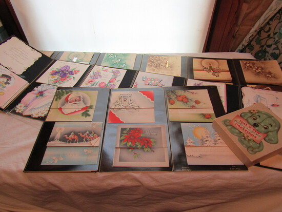 Vintage Holiday Cards, Christmas, Easter, Birthday, Greeting