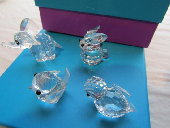 Swarovski Crystal Figurines and Others