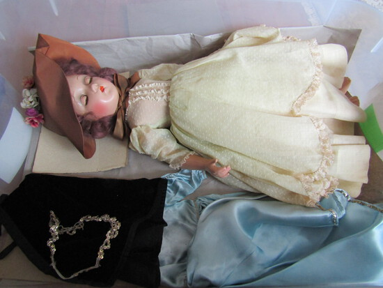 """Antique/Vintage Large 21"""" Compo Madame Alexander Doll"""