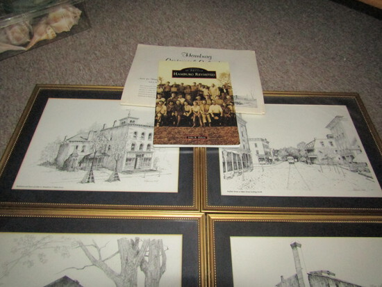 Hamburg 4 Framed Print, Calendar and Hamburg Revisited