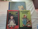 Vintage Kids Books, Raggedy Ann & Andy, Mothergoose