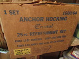 Anchor Hocking Crystal Set, Unused, UnOpened Box