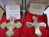 Sterling Silver Reed & Barton L.E. 2004 & 08 Ornaments, 1.04 oz
