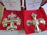 Sterling Silver Reed & Barton L.E. 2012 & 15 Ornaments, 1.13 oz