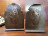 Antique/Vintage  Roycroft Hammered Copper Bookends