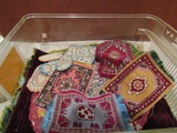 Vintage Dollhouse Cloth Rugs